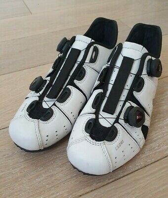 Lake CX241 White Carbon Road Cycling Shoes. Size 45 • 65£