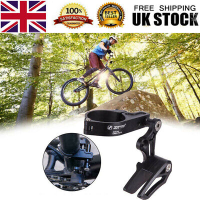 Bike Single-disc Chain Guide Protector Bicycle Chain Tensioner MTB Accessories • 15.98£