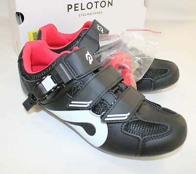 New PELOTON Black Red Cycling Shoes EU 40 In Box  - S10 • 56£