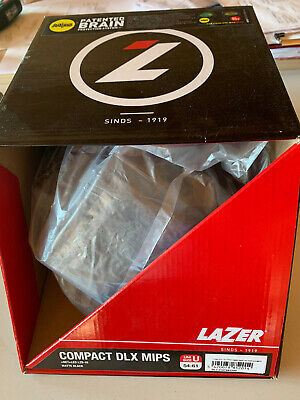 BRAND NEW Lazer Compact DLX MIPS Helmet Black Adult 54-61cm MUST GO ONE ONLY • 20£