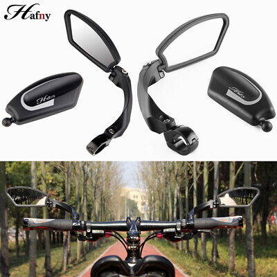 Bicycle Bike Cycling Handlebar Rear View Rearview Mirror Rectangle Back • 10.79£