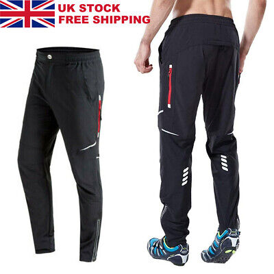 Men's Cycling Trousers Athletic MTB Sports Mountain Bike Pants Windproof Riding • 24.99£