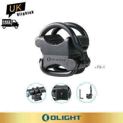 OLIGHT FB-1 10~35mm Universal Bike Mount For Led Torches Torch Holder Accessory • 6.95£
