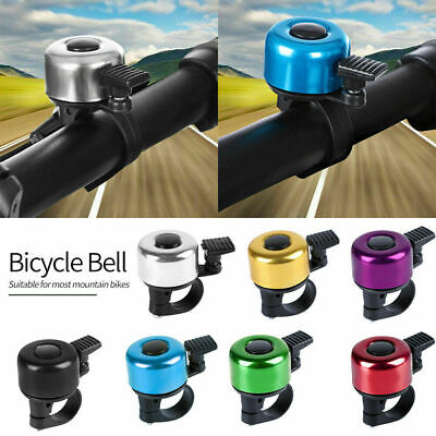 Aluminum Bicycle Bell Loud Crisp Clear Sound Bicycle Bike Bell For Adults Kids • 2.39£