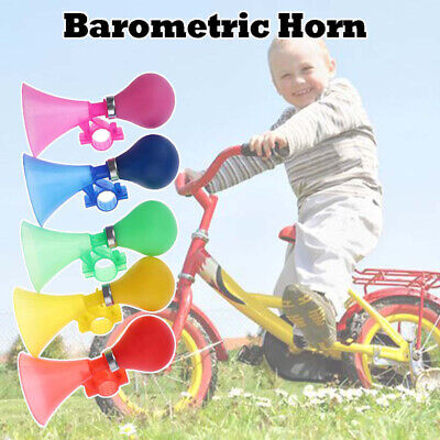 1 PSC Kids Bike Bicycle Cycling Air Horn Honking Hooter Squeeze Bike Bells • 4.29£