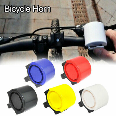 Electronic Bicycle Bike Cycling Alarm 90dB Loud Bell Horn Powered By Battery New • 2.19£