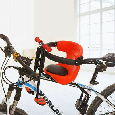Soft Cushion Front Bike Seat Toddle Bicycle Safety Carrier Chair For Child Kids • 20.17£