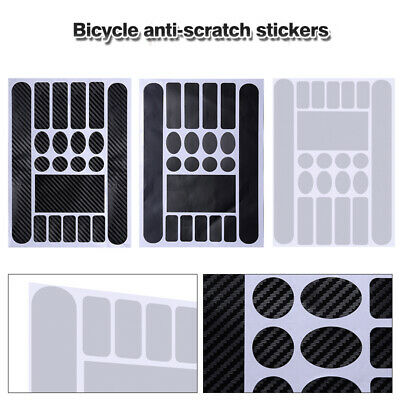 Bicycle Sticker Frame Protection Kit Mountain Bike Road Cycle Guard UK • 4.59£
