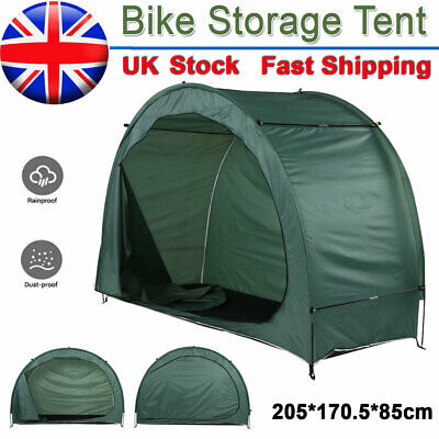 Large Tent Bicycle Bike Storage Outdoor Shed Garden Shelter Waterproof Travel UK • 33.59£
