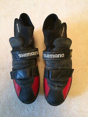 Shimano Spd Full Winter Cycle Shoes With Neoprene Ankle Closures Size Eu 46 • 15£