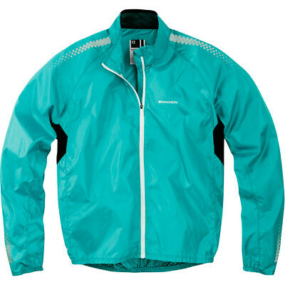 Madison Pac-It Showerproof Womens Cycling Jacket - Blue/teal • 19.99£