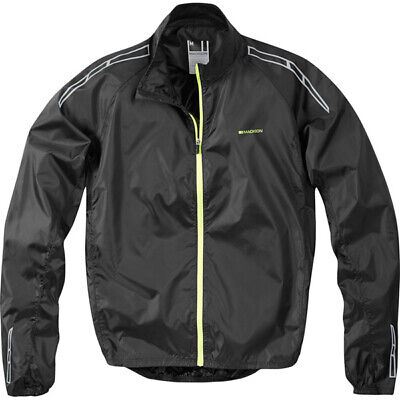Madison Pac-It Showerproof Gents Cycling Jacket - Black • 19.99£