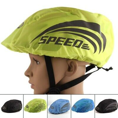 Helmet Cover Cycling Reflective Safety Windproof 1pc Dustproof Outdoor • 5.21£