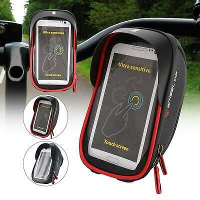 6' Handlebar Phone Bag Waterproof Bicycle Bike Case Bag Pouch Cover For Mobiles • 6.99£
