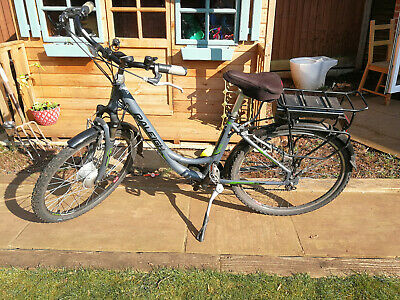Raleigh Velo XC Ladies 17  Frame Electric Bike, Orig Battery Needs Re-celling • 86£