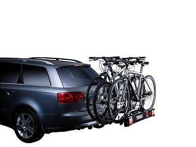 Thule 9503 3 Bike Cycle Carrier Towbar Towball Mounted Rack TILTABLE • 229.95£