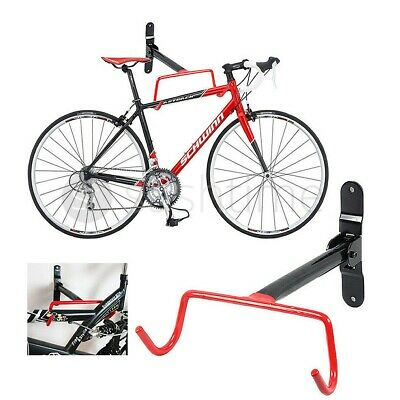 Bike Bicycle Wall Mounted Rack Storage Hanger Holder Hook Folding Space Saver • 7.95£