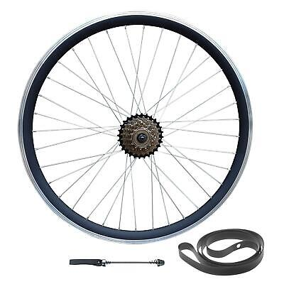 700c 28  Hybrid 29  29er MTB Bike Disc/Rim Brake REAR Wheel 6/7/8/9 Speed QR Hub • 57£