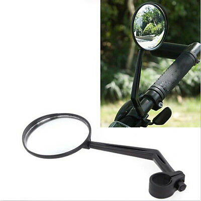 Handlebar Motorcycle Mountain Bike Bicycle Side Rear View Rearview  Mirror • 5.76£