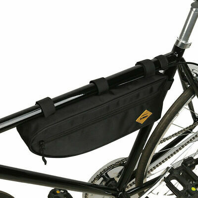 Bicycle Triangle Bag Bike Frame Front Tube Bag Waterproof Large Capacity Pouch • 8.88£