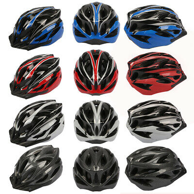 Adult Safety Head Protect Integrated Molding Helmet Bike Bicycle Riding Helmet • 6.99£