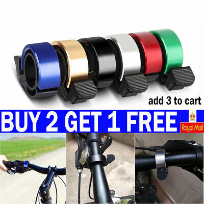 Bicycle Bell Aluminum Alloy Bike Bell MTB Handlebar Alarm Ring Invisible Bell-Y • 3.49£