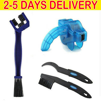 Bicycle Chain Cleaner Cycling Cleaning Brushes Wash Tools Kit Mountain Bike YY • 6.89£