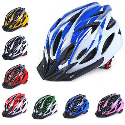 Adult Mens Ladys Bike Helmet Cycling Adjustable Safety Helmet Outdoor Protective • 14.99£