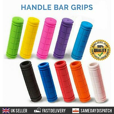 Soft Bike Handlebar Grips Hand Grip MTB BMX Cycle Road Mountain Bike Bicycle  • 3.39£