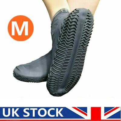 Silicone Overshoes Rain Waterproof Shoe Covers Boot Cover Protection Recyclable • 2.59£