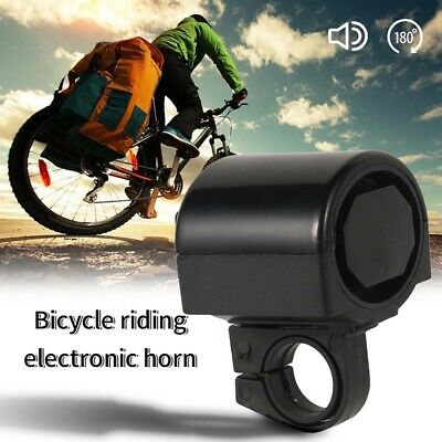 Mini Bicycle Bike Alarm Electric Warning Bell Ring Horn Safety Loud Cycling RV • 3.59£