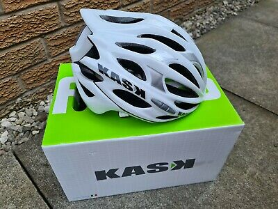 KASK : MOJITO  Cycling / Bike  Helmet  (Size Medium / Bianco) • 4.99£