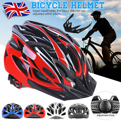 Protective Mens Adult Road Cycling Safety Helmet MTB Mountain Bike Bicycle Cycle • 13.99£
