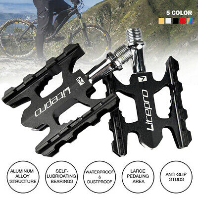 Bicycle Aluminum Alloy Pedals For Mountain Road Bike BMX Platform Flat Pedals • 15.85£