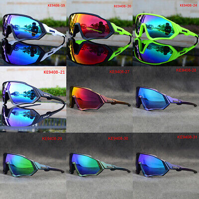 Cycling Sunglasses 5 Lens Polarized Sports Cycling Glasses Goggles Bicycle • 15.88£