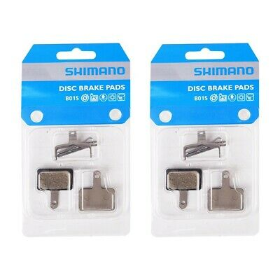 Shimano B01S Resin Disc Brake Pads & Spring For ACERA ALIVIO DEORE LX Optional • 11.99£