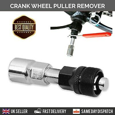 Bicycle Crank Puller Wheel Remover Extractor Pedal Tool Road Mountain Bike MTB  • 3.95£