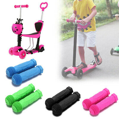 2 Pcs Children Kid Bike Handle Tricycle Scooter Handlebar Rubber Grips Cover • 5.19£