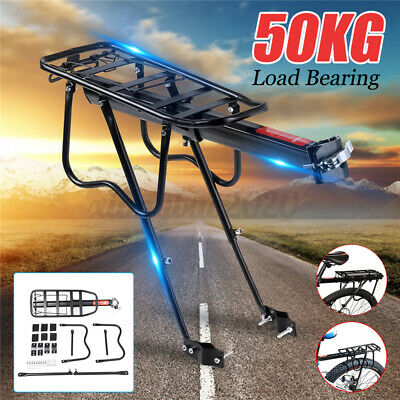 Alloy Cycling MTB Bike Bicycle Cycle Pannier Rear Rack Carrier Bracket Max 50KG  • 12.55£
