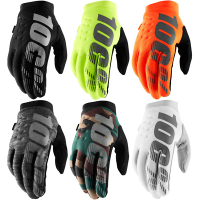 100% Brisker Motorcycle Motor Winter Bici Riding Warm Cycling Racing Gloves • 18.99£