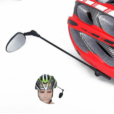 Bike Bicycle Cycling Rear View Helmet Safety Motorcycle Rearview Mirror In UK • 5.67£
