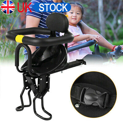 Child Bicycle Bike Front Seat Saddle Children Kid Baby Safety Carrier Chair Kids • 19.99£