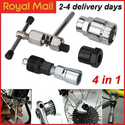 Mountain Bike Bicycle Cycling Crank Chain Axis Extractor Removal Repair Tool Kit • 6.69£