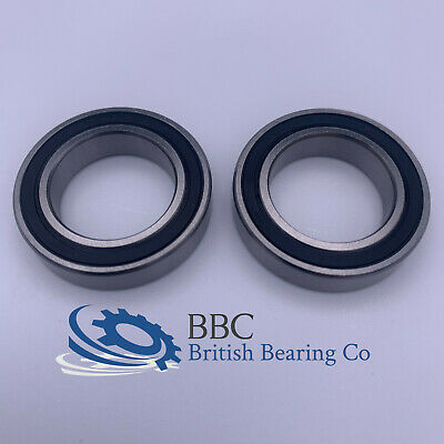 PAIR OF 6800RS (61800-2RS) THIN SECTION QUALITY BEARINGS 10x19x5mm • 3.95£