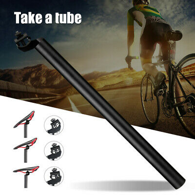 25.4-31.6mm Seatpost 450mm Bike Seat Post Suitable To Bicycle Mountain Road Bike • 14.99£