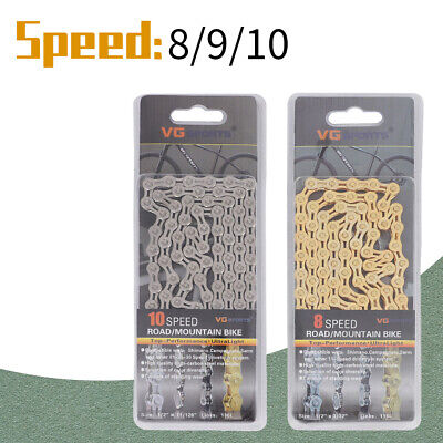 8/9/10/11 Speed Bicycle Chain Gear Mountain Bike Road Hybrid Cycle Links  • 6.89£