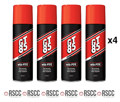 4x GT85 PTFE LUBE ROAD MTB BMX CYCLE BIKE LUBRICANT OIL SPRAY WITH TEFLON 400ml  • 12.48£