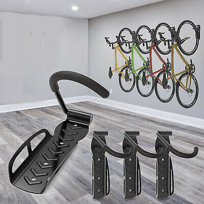 Bike Rack Hook Storage Steel Mounted Wall Hanger Hanging Stand Bicycle Holder. • 8.09£