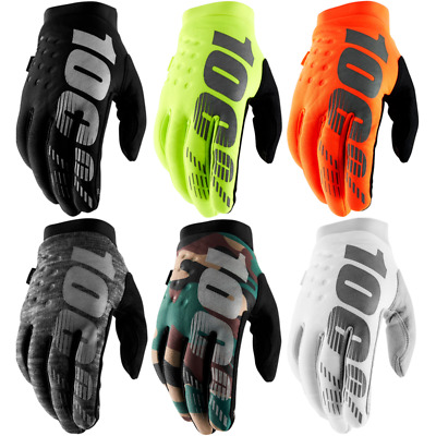 100% Brisker Motorcycle Motor Winter Bici Riding Warm Cycling Racing Gloves • 15.68£