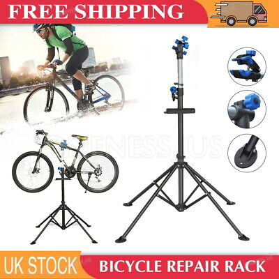 Adjustable Bike Repair Stand Bicycle Maintenance Mechanic Workstand Rack Black • 42.59£